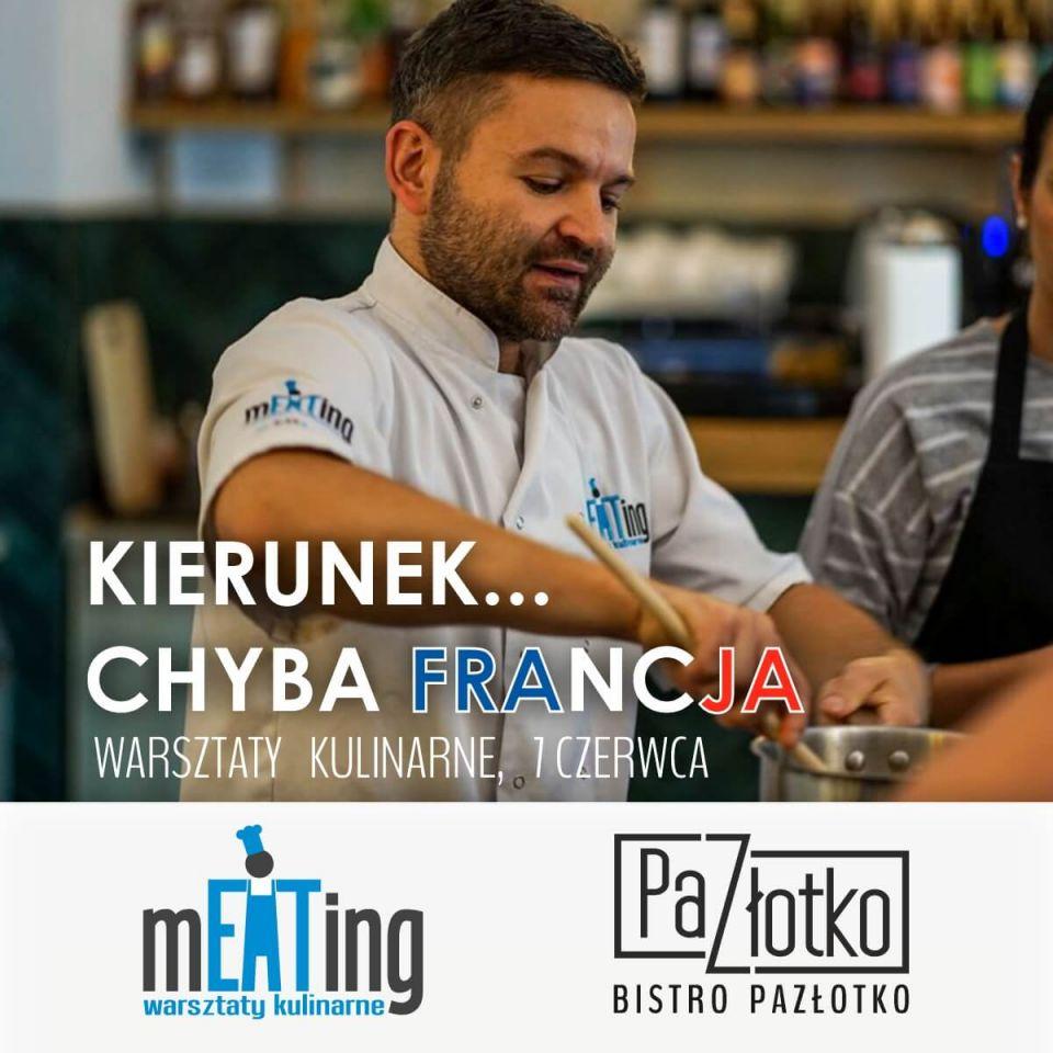 Warsztaty kulinarne Lublin - kuchnia francuska | Bistro Pazłotko | Restauracja Lublin