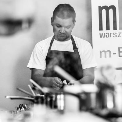 Dawid Furmanek blogger - Lublin - warsztaty i pokazy kulinarne mEATing - Studio kulinarne w Lublinie